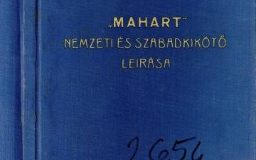 MAHART Nemzeti és Szabadkikötő leírása, 1960-61_1